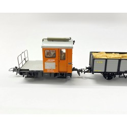Locomotive : BEMO Wagon : REE