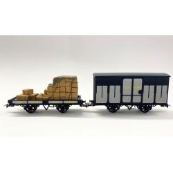 Wagon : REE, chargement : Artitec