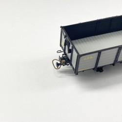 Wagon : REE Modèle Attelage : Ferro Modèles
